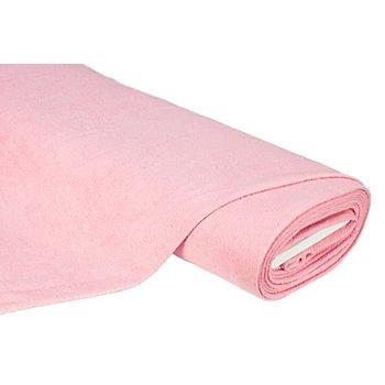 Baumwoll-Fleece, rosa
