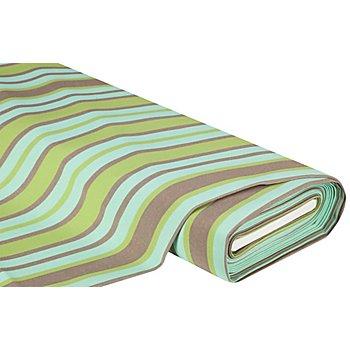 Allround-Gewebe Madrid 'Stripes', grün/taupe