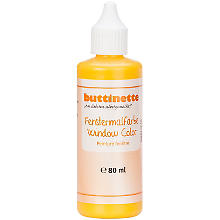 buttinette Fenstermalfarbe in verschiedenen Farbtönen, 80 ml