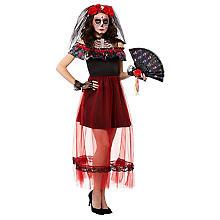 Tag-der-Toten-Kostüm für Damen