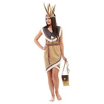 Indianerkostüm 'Kachina' für Damen
