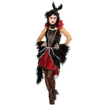 Vampirkostüm 'Lady Vamp' für Damen