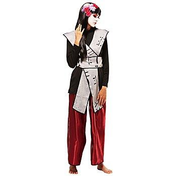 Ninja-Kostüm 'Yamiti' für Damen