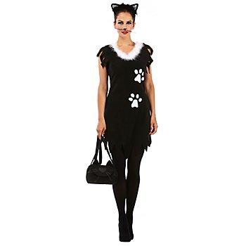 Katzenkostüm 'Black Cat' für Damen