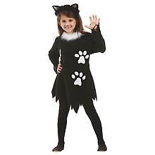 Katzenkostüm 'Black Kitty' für Kinder