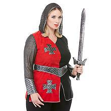 Ritterin-Kostüm für Damen