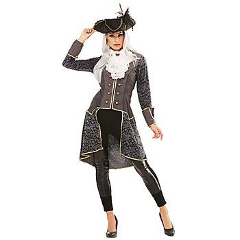 Piratin-Jacke 'Lady Grey' für Damen