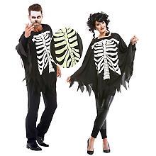 Skelett-Poncho für SIE und IHN