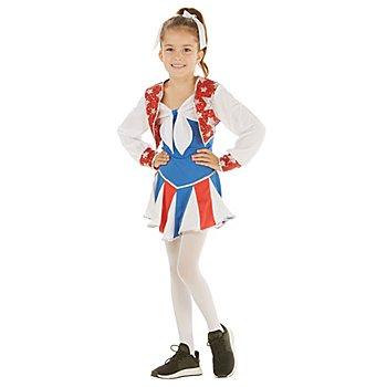 Cheerleaderkostüm 'Little Silverstar' für Mädchen