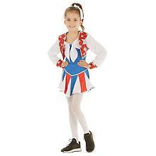 Déguisement de cheerleader 'Little Silverstar' pour filles
