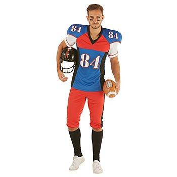Footballer-Kostüm 'Quarterback' für Herren