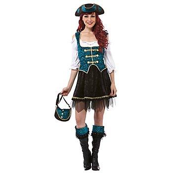 Piratin-Kostüm 'Mary Ann' für Damen