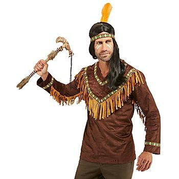 Indianer-Oberteil 'Große Feder' für Herren