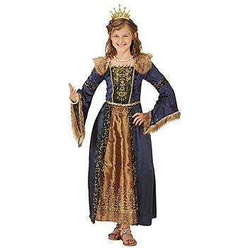 Königin-Kostüm 'Rayna' für Kinder