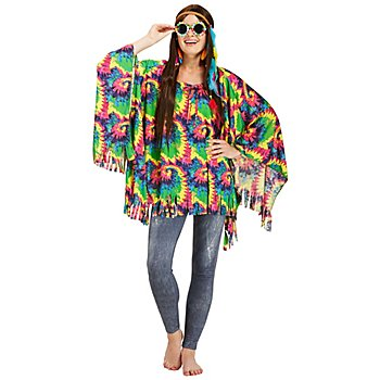 Poncho 'Hippie-Time' für SIE & IHN