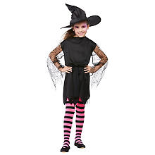 Hexe-Kostüm 'Creepy' für Kinder