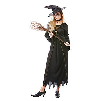 Hexenkostüm 'Black Witch' für Damen