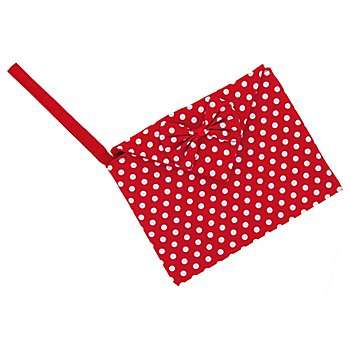 buttinette Clutch 'White Dots'
