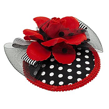 Bibi / petit chapeau 'petite rose'