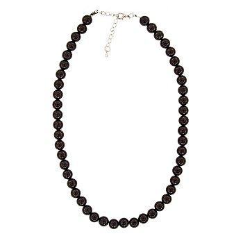 Perlenkette 'Black Pearl'