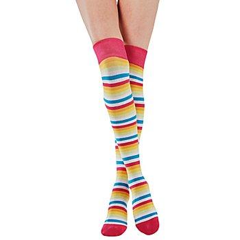 Overknees 'Multicolor'