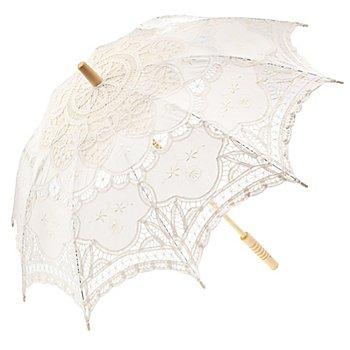 Schirm 'Häkelspitze'