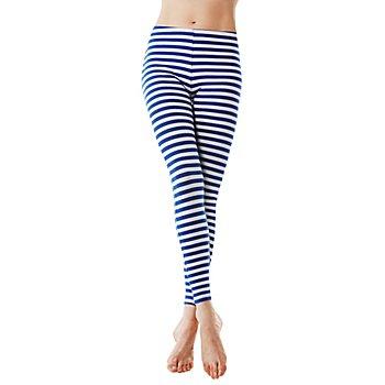 Ringel-Leggings 'Blue Stripes'