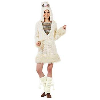 buttinette Lama-Kostüm für Damen