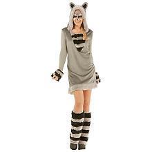 buttinette Waschbär-Kostüm für Damen