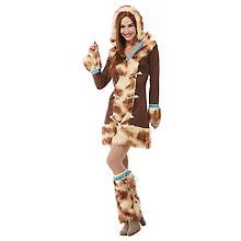 Eskimo-Kostüm 'Aika' für Damen
