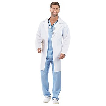 Arzt-Kostüm 'Mr. White' für Herren