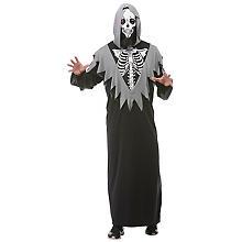 Skelett-Kostüm 'Mr. Dead' für Herren