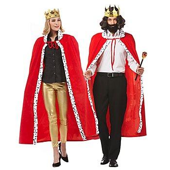 Königsmantel 'King & Queen' für SIE und IHN