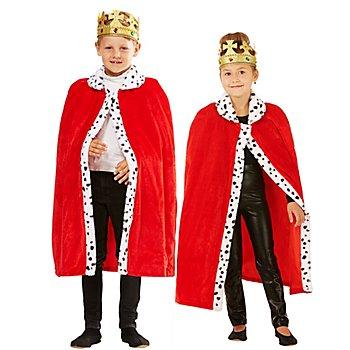 Königsmantel 'Little King' für Kinder