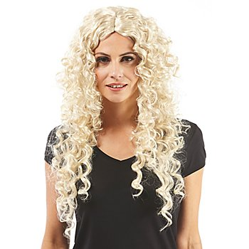 Perruque 'Blond Curly', blond