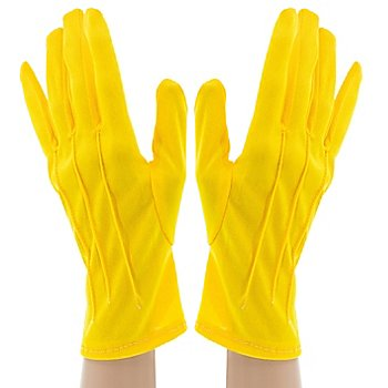 Handschuhe 'Claire', gelb
