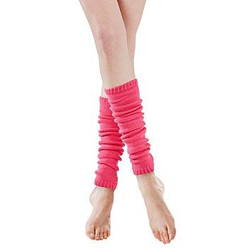 Strickbeinstulpen, pink