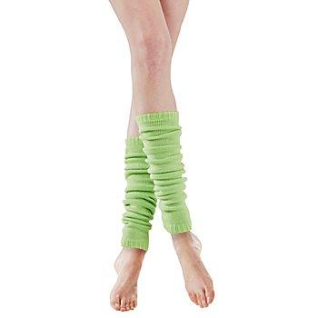 Strickbeinstulpen, grün