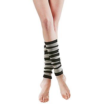 Strickbeinstulpen 'Grey & Black Legs'
