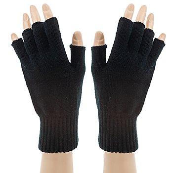 Strickhandschuhe 'Black Hands'