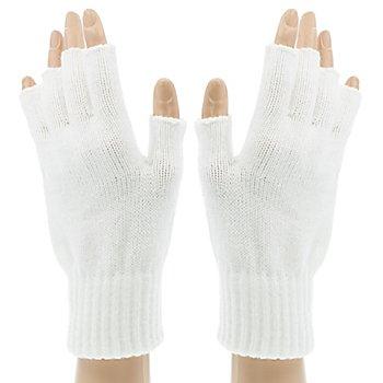Strickhandschuhe 'White Hands'