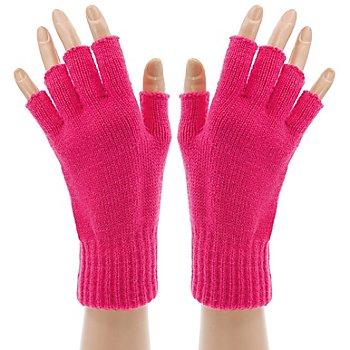 Strickhandschuhe 'Pink Hands'