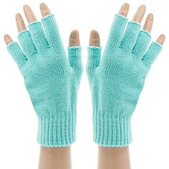 Strickhandschuhe 'Turquoise Hands'
