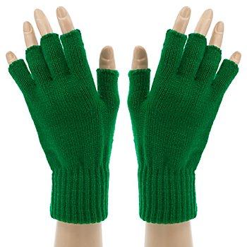 Strickhandschuhe 'Dark-Green Hands'