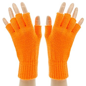 Strickhandschuhe 'Orange Hands'