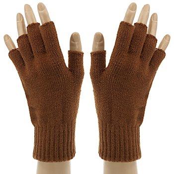 Strickhandschuhe 'Brown Hands'