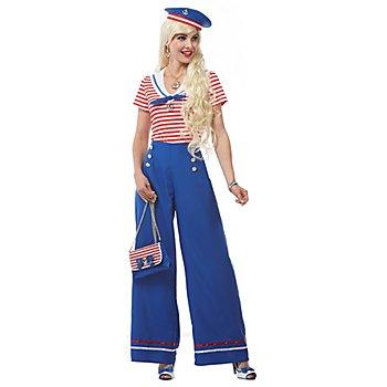 Matrosin-Kostüm 'Smilla' für Damen