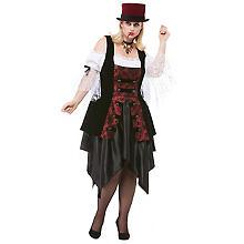 Vampir-Kostüm 'Vampina' für Damen