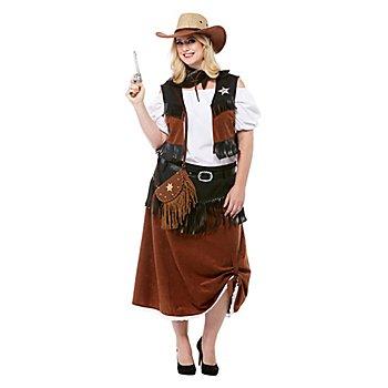 Cowgirl-Kostüm 'Wild Lotta' für Damen