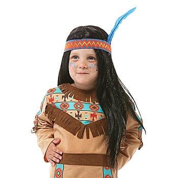 Perruque d'Amérindien 'Howgh' pour enfants
